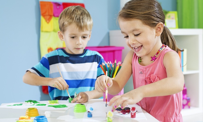 Canyon Kids Preschool - Woodland Hills: Five Preschool Classes or One Month at Canyon Kids Preschool (Up to 64% off). Four Options Available.