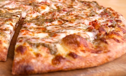 $13 One Extra Large Pizza with Up to Five Toppings at Nizario's Pizza (Up to $21.31 Value)