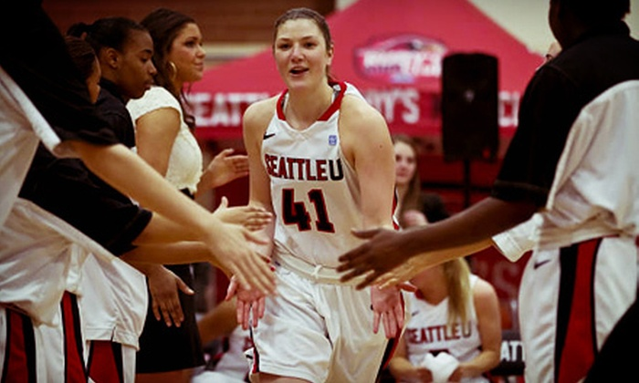 Seattle University Redhawks Women's Basketball - Lower Queen Anne: Seattle University Women's Basketball Game for Two at KeyArena on November 14 at 7 p.m. (Up to 52% Off)