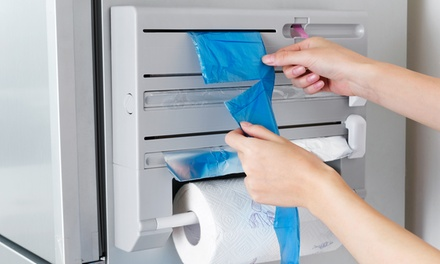 $29 for a Six-In-One Kitchen Cling Film, Foil and Paper Towel Dispenser