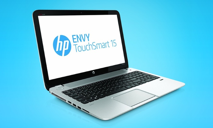"""HP Envy 15.6"""" Touchscreen Notebook with 12GB RAM: $699.99 for an HP Envy Touchscreen Notebook (Manufacturer Refurbished) ($879.49 List Price). Free Shipping and Returns."""