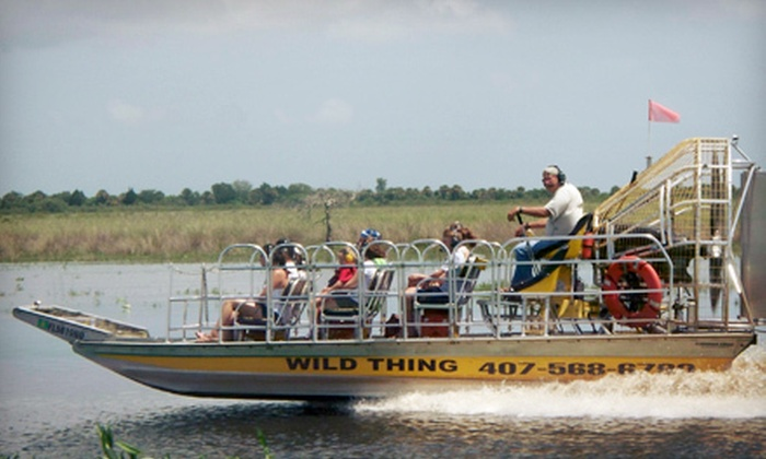 Airboat Rides at MIDWAY - Christmas: One-Hour Airboat Eco Tour for Two or Four from Airboat Rides at MIDWAY (Up to Half Off)