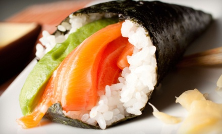 Japanese Dinner or Lunch at Nishiki Sushi (Up to 30% Off)