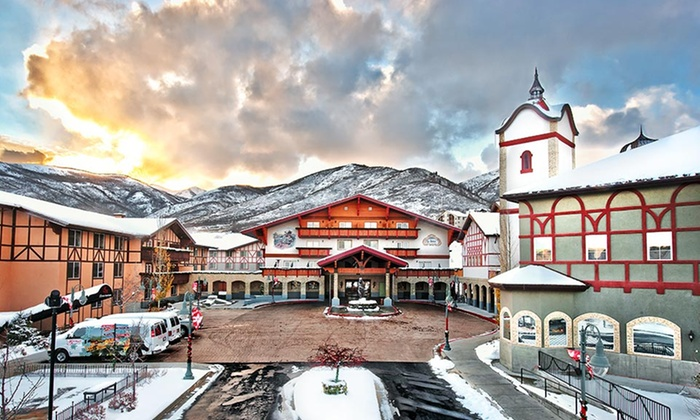 Zermatt resort in midway ut groupon getaways for Accolades salon groupon