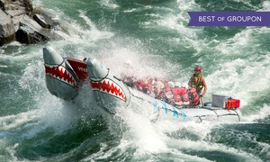 Hyak River Rafting: Paddle- or Power-Rafting Trip for One, Two, Four, or Eight from Hyak River Rafting (Up to 56% Off)