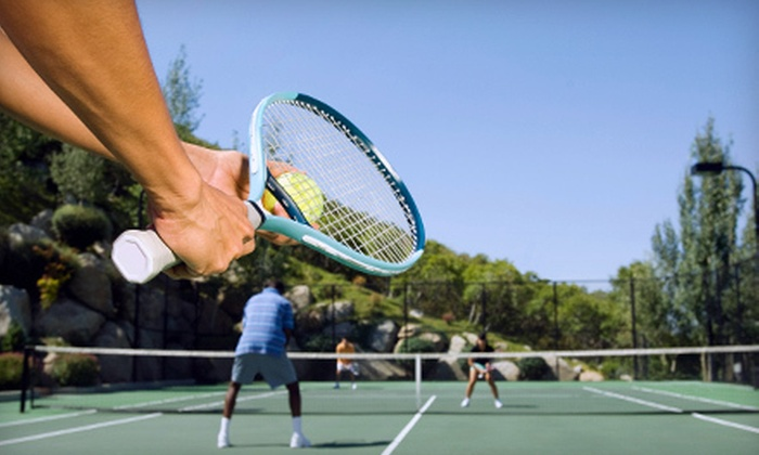 Oceanside School of Tennis - Santa Barbara: Tennis Lessons or Racquet Re-Stringing at Oceanside School of Tennis (Up to 51% Off). Four Options Available.