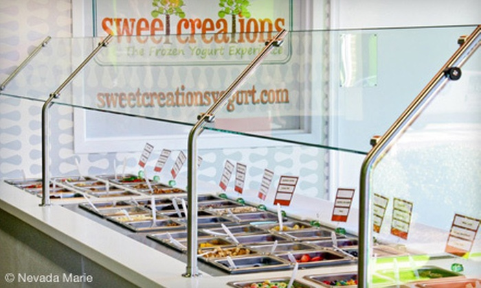 Sweet Creations Frozen Yogurt - Fuquay-Varina: Frozen Yogurt at Sweet Creations Frozen Yogurt (Half Off). Two Options Available.