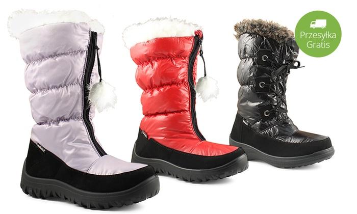 Damskie śniegowce Mcarthur 5 Modeli Groupon