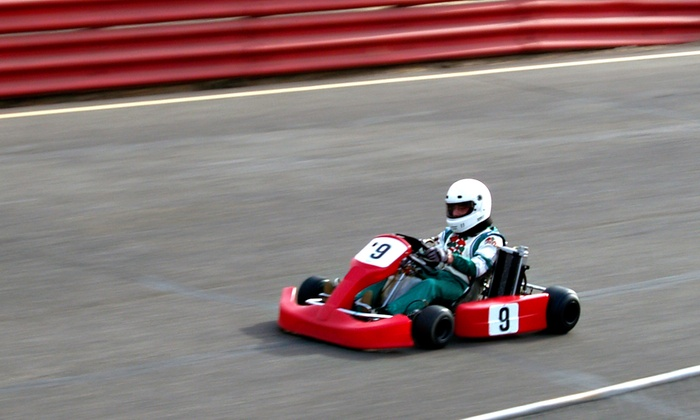 MB2 Raceway - Multiple Locations: $12 for a 14-Lap Adult Go-Kart Race at MB2 Raceway ($23 Value)