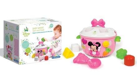 Clementoni Baby Minnie Sort and Cook Shape Sorter