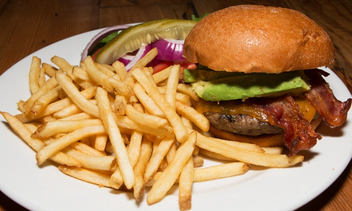 """Avenue """"A"""" Bar & Grill - Redondo Beach: American Cuisine for Two or Four or More at Avenue """"A"""" Bar & Grill (40% Off)"""