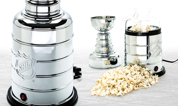 NHL Stanley Cup Trophy Popcorn Maker: NHL Stanley Cup Trophy Popcorn Maker. Free Returns.