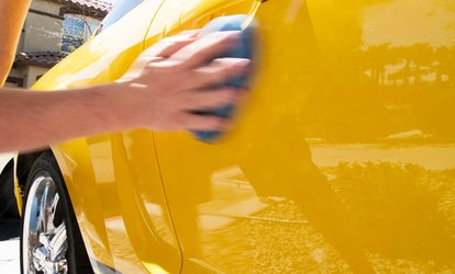 image for Car Valet: Mini or Standard with Optional Autoglym Wax at ShineXpress (Up to 48% Off)