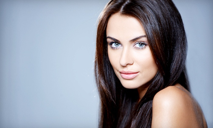 iBlowdry - iBlowdry, LLC.: Blowout or Haircut and Blow-Dry with Option for Color or Partial Highlights at iBlowdry (Up to 70% Off)