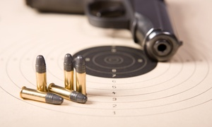 Spring Guns and Ammo: Ultrasonic Gun Cleaning or Shooting Range Package for 1, 2, or 4 at Spring Guns and Ammo (Up to 47% Off)