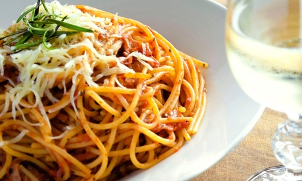 Italian Meal with Apps, Entrees, and Desserts for 2 or 4 at Luciano's (Up to 53% Off). 4 Options Available.