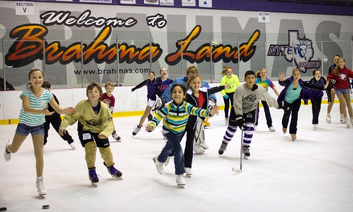 NYTEX Sports Centre - NYTEX Sports Centre: Friday-Night or Winter Wonderland Ice Skating for Two or Four or Birthday Party at NYTEX Sports Centre (Up to 56% Off)