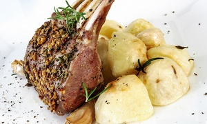 Restaurant L'Entrecôte: 4-Course Dinner for Two or Four, or VIP Menu for Two at L'Entrecôte Restaurant (Up to 54% Off)