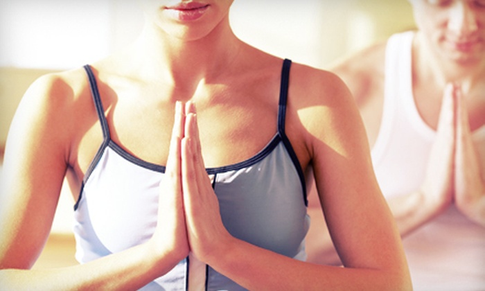 Southern Om - Pleasantburg: $25 for Two Weeks of Unlimited Hot Yoga at Southern Om ($80 Value)