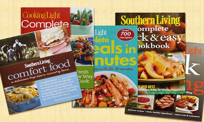Cooking Light And Southern Living Cookbooks ...