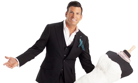 David Tutera at City National Grove of Anaheim on Saturday, September 13, at 8 p.m. (Up to 57% Off)