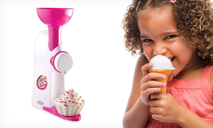 Nostalgia Electrics Mix 'N Twist Ice Cream and Toppings Mixer: $22.99 for Nostalgia Electrics Mix 'N Twist Ice Cream and Toppings Mixer ($39.99 List Price). Free Shipping and Returns.