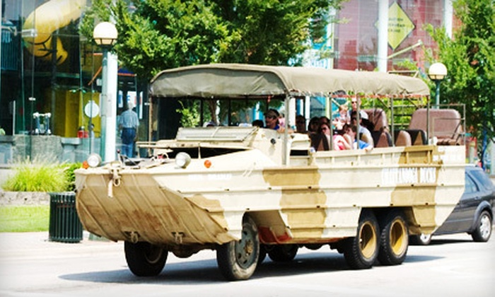Chattanooga Ducks - Downtown Chattanooga: Amphibious-Vehicle Tour of the Tennessee River for an Adult or Child from Chattanooga Ducks (Half Off)
