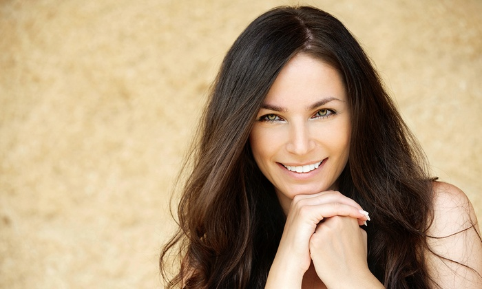 Salon Domani - Farmington: $45 for Cut, Color or Partial Highlights, and Moroccanoil Treatment at Salon Domani (Up to $160 Value)