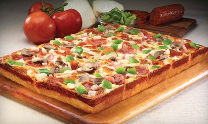 Jet's Pizza - NorthEast Charlotte: $10 for $20 Worth of Pizza and Sub Sandwiches at Jet's Pizza