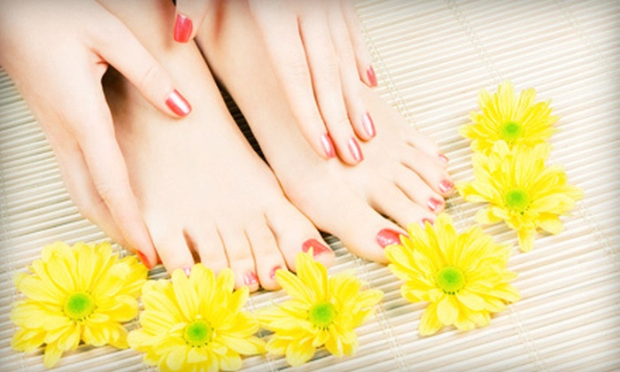 Marjan's Place Salon & Spa - Foothills: One or Two Mani-Pedis at Marjan's Place Salon & Spa (Up to 56% Off)
