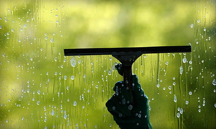 A1 Seasonal Services - Ann Arbor: Window Washing for One or Two Stories from A1 Seasonal Services (Up to 58% Off)
