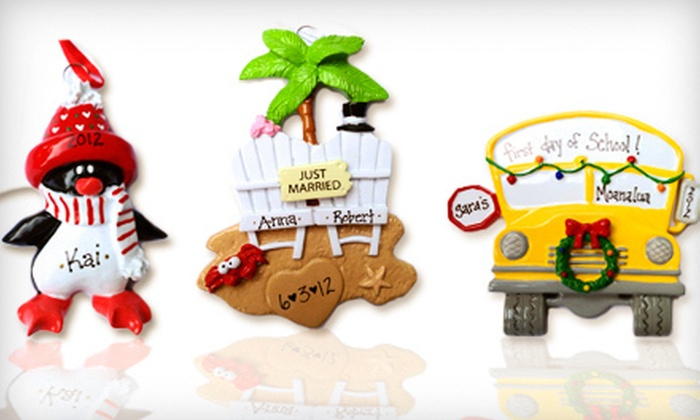 Rudolph and Me - Ala Moana - Kakaako: $15 for $30 Worth of Personalized Holiday Ornaments at Rudolph and Me