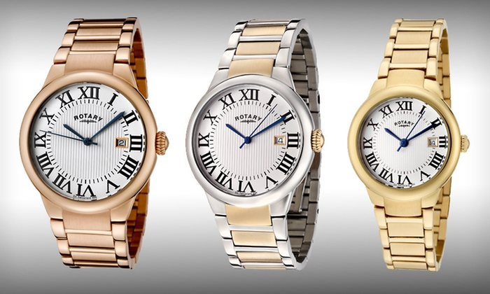 Men's and Women's Rotary Watches: Men's or Women's Rotary Watches (Up to 84% Off). Nine Options Available.
