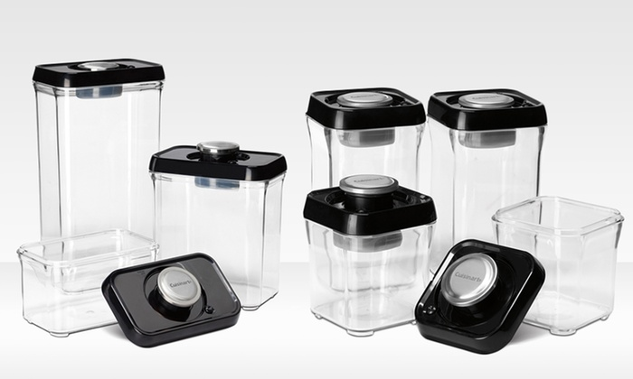 Cuisinart Vacuum Seal Storage Groupon Goods