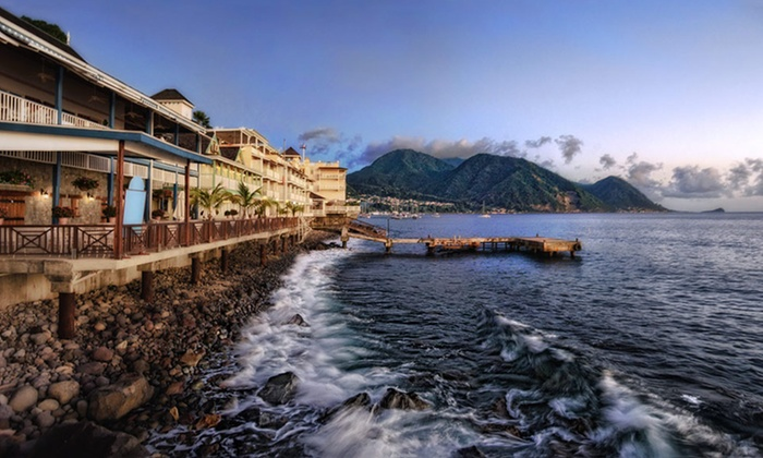 3- or 4-Night Stay at Fort Young Hotel in Dominica, Lesser Antilles Deals for only $259 instead of $495