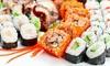 Sushi-Menü für Zwei