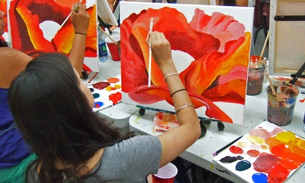 Two-Hour BYOB Painting Workshop for One at Painting Lounge (30% Off)