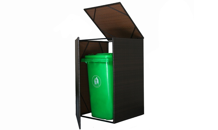 Hedendaags Container-opbergbox in rotan-look | Groupon UT-53