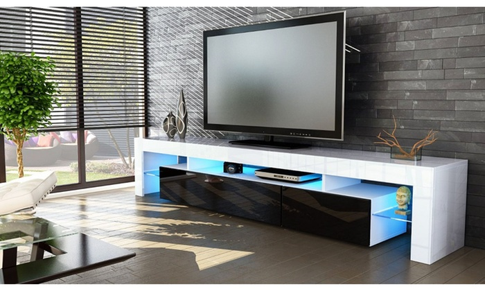 Peru High Gloss Tv Cabinets Groupon Goods