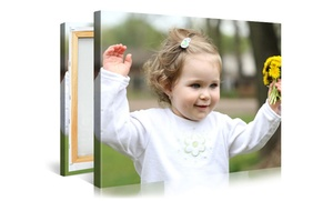 "$19.99 For A 16""x20"" Canvas Portrait�including Shipping����from Picanova ($89 Value)"