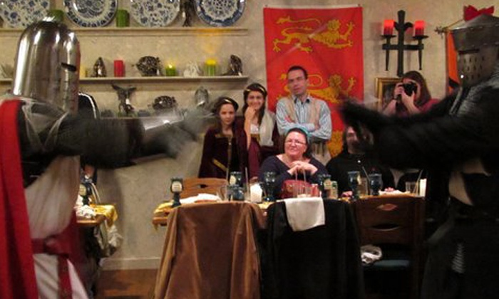 Medieval Madness - Old Town: $39 for a Medieval-Themed Comedy Show and Four-Course Dinner for One at Medieval Madness ($59 Value)