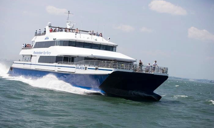 Boston Harbor Cruises - Multiple Locations: $58 for a Roundtrip Ticket to the Provincetown Fast Ferry from Boston Harbor Cruises ($88 Value)