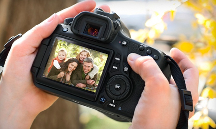 Digital Photo Academy - Multiple Locations: Family Photography Workshop for One or Two with Digital Photo Academy (Up to 55% Off)