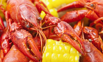 Cajun Food for Dine-In or Carry-Out from Furlongs Crazy Bout Cajun (Up to 47% Off)