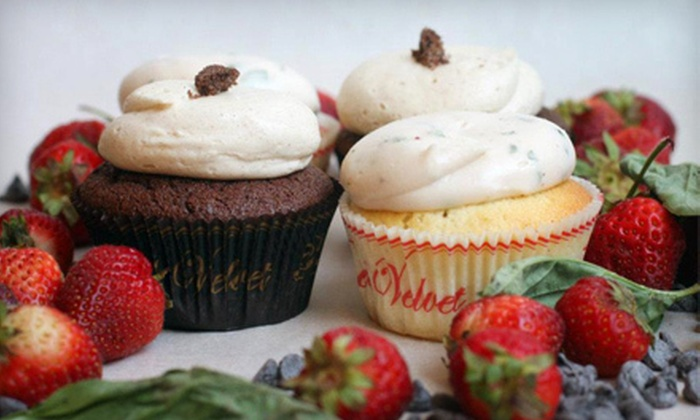 Red Velvet Cupcakery - Downtown - Penn Quarter - Chinatown: $20 for One Dozen Assorted Cupcakes at Red Velvet Cupcakery ($39.60 Value)
