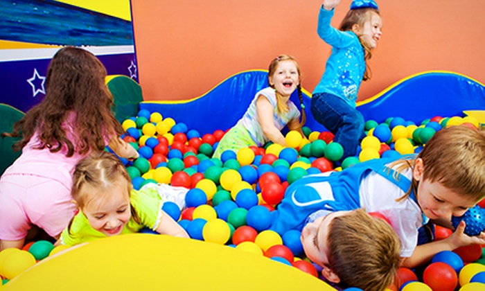 Overboard Softplay - Polbeth: Overboard Softplay: Two-Hour Access Plus Lunch from £9 (Up to 56% Off*)