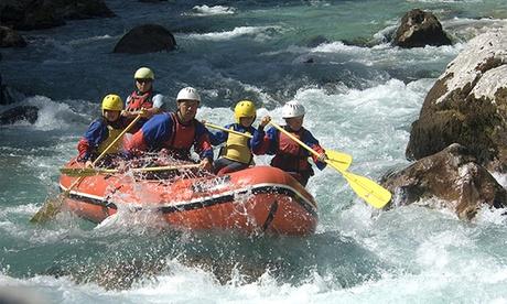 Rafting por el río Genil para 2 o 4 personas desde 49,95 € Oferta en Groupon