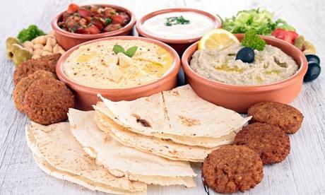 Menu libanese con vino per 2 o 4 persone da Sciam a Campo dè Fiori (sconto fino a 72%)