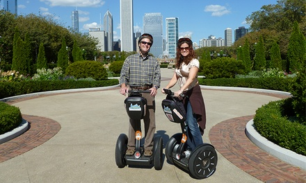 90-Minute Springtime Park Adventure Tour for 1 or 2 from Absolutely Chicago Segway Tours (Up to 50% Off)