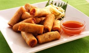Kawali Cafe: Filipino Food and Sushi at Kawali Cafe (Up to 43% Off). Two Options Available.